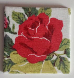 Ceramic Wall Tiles Made With Royal Rose Cath Kidston in White